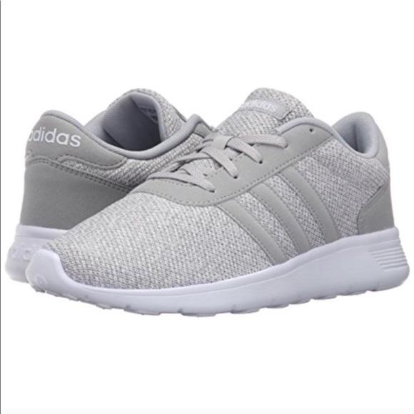 Adidas NEO Lite Racer Grey Cloudfoam Sneakers